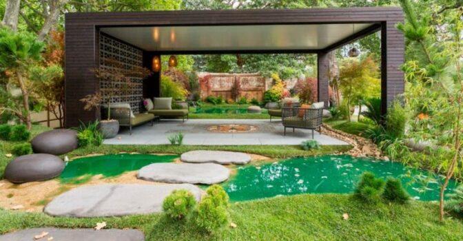 Ландшафтний дизайн - оригінальне оформлення зеленої зони
