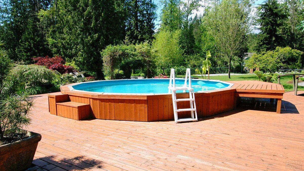 каркасний басейн